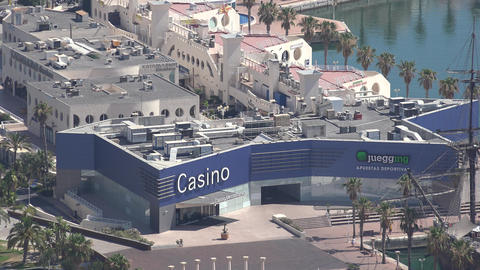 Casino Building And Gambling Footage