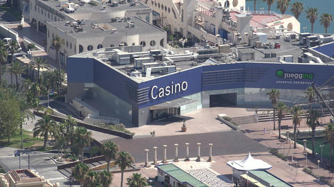 Casinos And Shopping Districts Footage