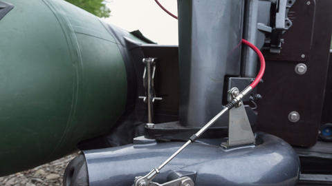 Outboard motor Stock Video Footage