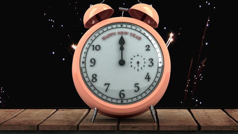 Clock ticking video Animation