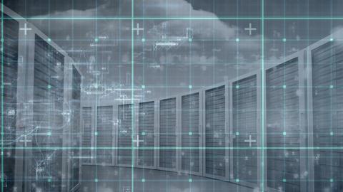 Data Server Room Video Animation