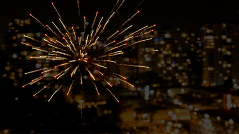 Animated firework video 4k Animation