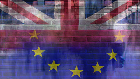 Brexit Themed digital video Animation
