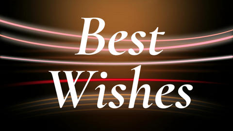 best wishes Animation
