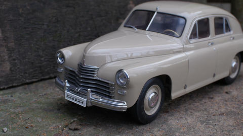 retro car GAZ M-20 Victory Live Action