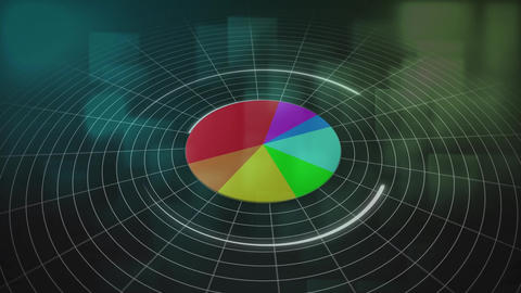 Pie chart growing Animation