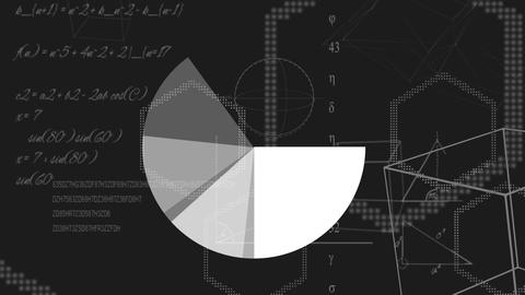 Animation of moving geometric forms Animation