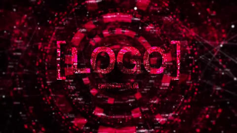 Digital Logo Reveal After Effects Template
