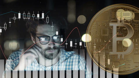 Understanding the cryptocurrency trend 4k Animation
