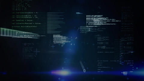 Binary codes and scripts Animation