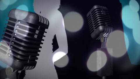 Digital composite of the music industry Animation