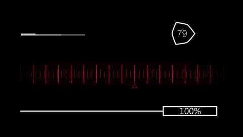 Reaching the goal in a measurement line Animation