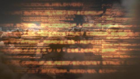 Cloud programming codes Animation