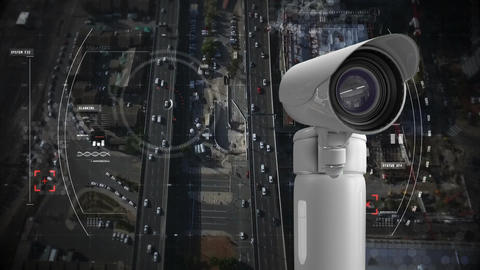 CCTV and road Animation