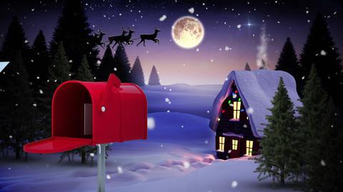 Christmas evening Animation