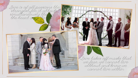 Wedding-memories-slideshow-338813 Premiere Pro Template