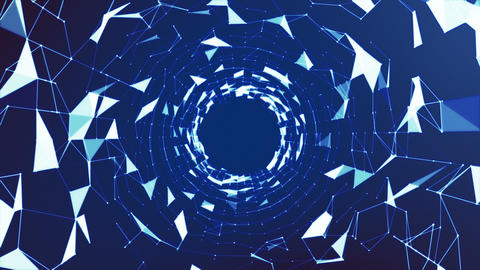 Plexus Tunel Animation