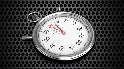 Moving stop watch Animation