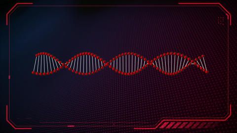 Double helix DNA Animation