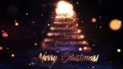 Christmas Greetings Logo Reveals After Effects Template