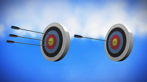 Target and arrows Animation