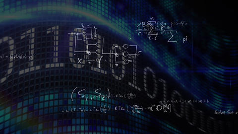 Binary codes and equations Animation