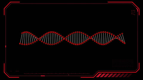 DNA double helix Animation