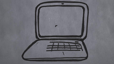 Laptop computer Animation