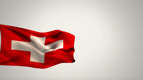 Switzerland flag Animation