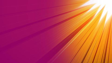 Sun with orange and pink background Animation