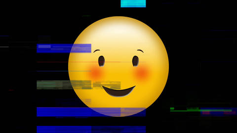 Smiling face with squinting eyes Animation