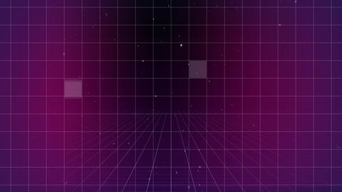 Grid filled with white dots Animation