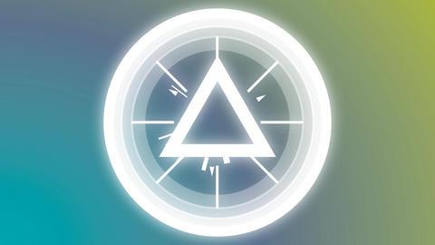 Blinking triangle Animation