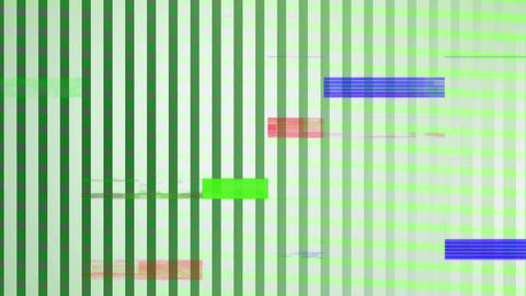 Colorful sizzle strip against grid pattern Animation