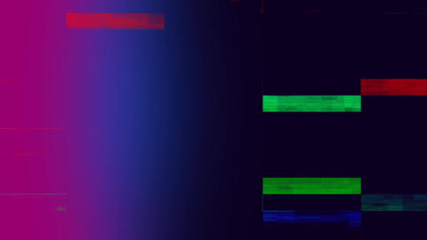 Flickering bars of lights Animation