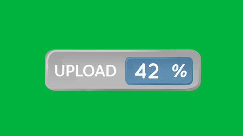 Upload bar speed 4k Animation