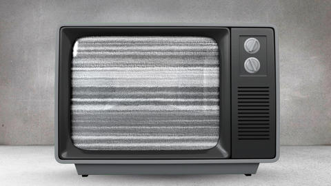 Television with arrows moving up its screen Animation