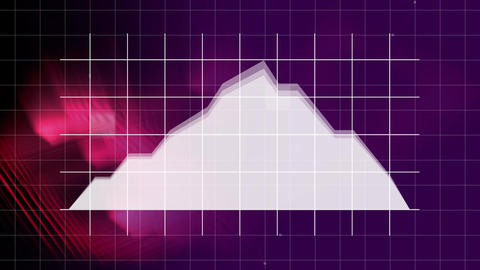 Stock prices against light effects Stock Video Footage