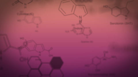 Chemical structures Animation