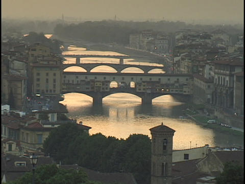 The Armor River flows through Florence Footage