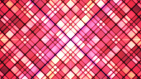 Broadcast Twinkling Cubic Diamonds, Pink, Abstract, Loopable, 4K Animation