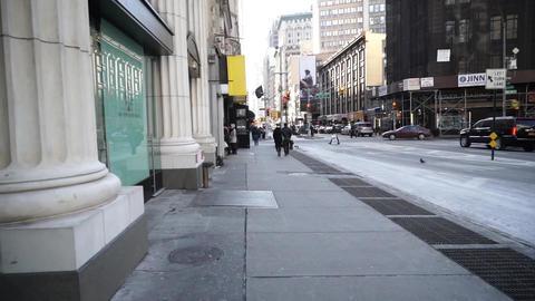 NewYorkストリート001 Footage