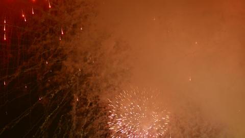 4K Ungraded: Fireworks Show / Fireworks Explosions Live Action