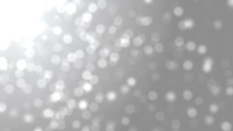Bokeh Particles Blur White Loop Videos animados