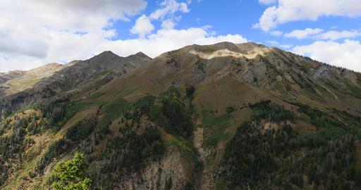 Mt Nebo Utah autumn cloud shadow peak fast DCI 4K Footage