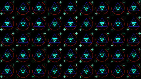 VJ Looped Seamless Footage Abstract Geometric Backdrop 애니메이션