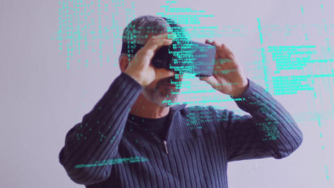 Virtual reality scope Animation
