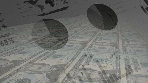 Statistics of money Animation