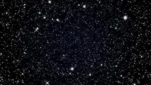 Beautiful Stars Background Animation