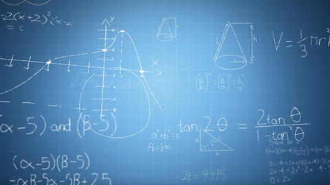 Mathematical equations Animation